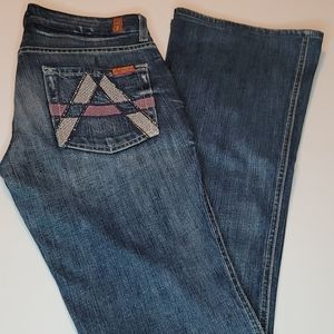 7 for all mankind A Pocket Organic Cotton Jeans 27